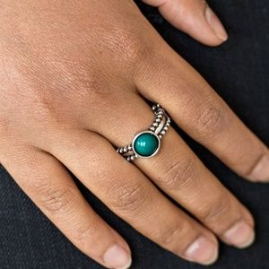 TREK AND FIELD GREEN RING